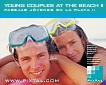 Young couples at the beach II (CD185)