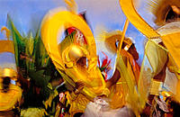 Carnival. Antigua Island. West Indies