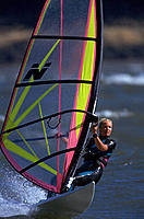 Windsurfing. Columbia River. Oregon. USA