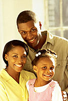 Afro-American family