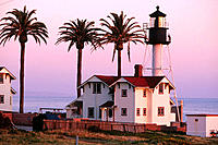 New Point Loma Lighthouse. San Diego. California. USA