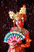 Girl dancer. Bali. Indonesia.