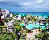 Costa Linda resort. Manchebo Beach. Aruba. Netherlands Antilles