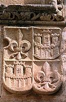 Coat of arms. Casa de los Golfines de Abajo. Caceres. Spain