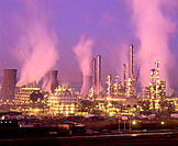 Petrochemical plant. Scotland