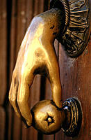Door knocker. San Miguel de Allende. Mexico