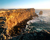 Coastal cliffs. Eyre Peninsula. South Australia. Australia