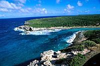 La Porte d´Enfer (´Gate of Hell´). Grande Terre island. Guadeloupe. West Indies (FR)