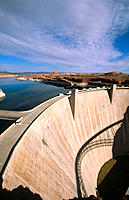 Glen Canyon dam. Arizona. USA