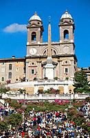 Piazza di Spagna. Rome. Italy