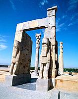 Gate of Xerxes. Persepolis (Takht-e Jamshid). Fars. Iran