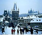 Czech Republic, Prag, Karlsbrücke