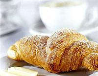 Croissant, Breakfast, Cakes
