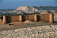 Kharga oasis. Egypt