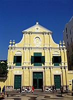 St. Dominic church. Macau. China