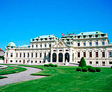 Belvedere Palece. Vienna. Austria