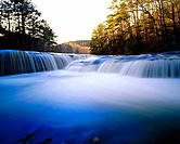 Hawk Creek Falls. Johnson County. Arkansas. USA