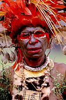 Wahgi Valley people. Papua New Guinea
