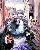 Venice 1930 Martha Walter 1875-1976 American Oil on canvas David David Gallery, Philadelphia,Pennsylvania USA