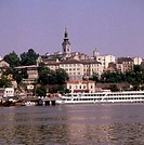 River Sava, Belgrade, Yugoslavia