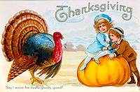 Thanksgiving Nostalgia Cards