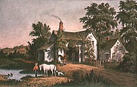 The Village BlacksmithCurrier & Ives (active 1857-1907/American)