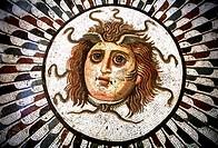 Medusa Mosaic Archeological Museum, Sousse, Tunisia