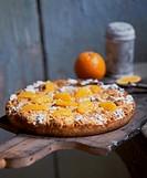 Orange crumble cake