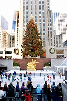 Rockefeller Center. Manhattan. New York City. USA