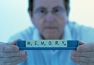 Alzheimer´s disease. Conceptual image representing the memory loss associated with Alzheimer´s disease and other conditions. Alzheimer´s is the most c...