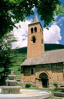 Church of San Felipe. Vilac. Vall d'Aran. Lleida province. Catalonia. Spain