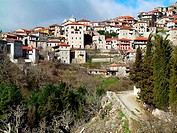 Dimitsana town. Arcadia, Peloponnese. Greece