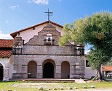 Mission San Antonio de Padua, founded 1771. Monterey County. California. USA