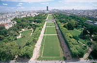 Champs de Mars. Paris. France