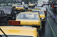 Taxis, Estambul, Turkey