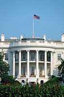 The White House, the official office and residence of the president of the United States. Washington D.C. USA