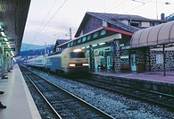 Train station. Zumarraga. Spain (thumbnail)
