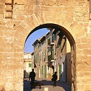 Gate of the old medieval walls. Alcudia. Majorca. Balearic Islands. Spain (thumbnail)