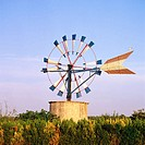 Windmill. Majorca. Balearic Islands. Spain