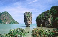 James Bond Island. Phangna. Phuket. Thailand