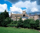 Jedburgh Abbey. Scottish Borders. Scotland