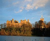 Linlithgow Palace and St. Michael's Church, Linlithgow, West Lothian, Scotland