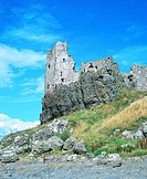 Dunure Castle. South Ayrshire. Scotland
