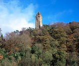 The Wallace monument. Stirling. Scotland