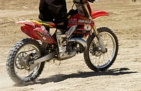 Motorcross motorcycle