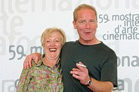 Phyllis Macmahon and Peter Mullan