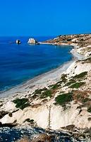 Petra Tou Romiou (supposed birthplace of Aphrodite). Cyprus