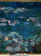 Water Lilies (Detail). by Claude Monet