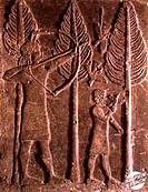 Relief: Hunting Scene Mesopotamian Art Musee du Louvre, Paris