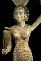 Statue of The Offering Porter (Egyptian Art )
